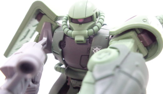 【HG THE ORIGIN】ザクⅡ C-6/R6型 レビュー