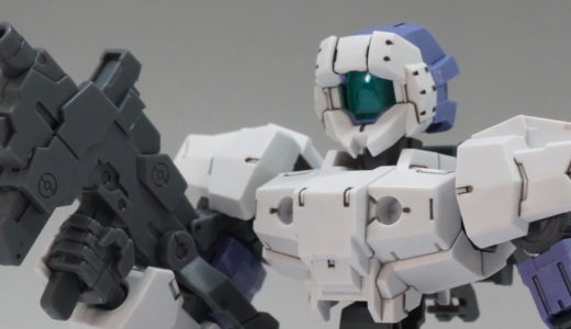 【30MM】eEXM-17 アルト[ホワイト] レビュー