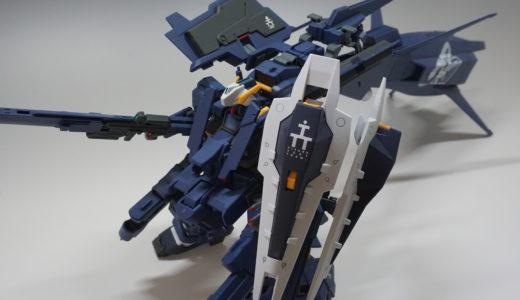 【AOZ】ガンダムTR-1[ヘイズル・ラー]クルーザー巡航形態 組合せレビュー