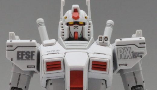 【HG THE ORIGIN】RX-78-02 ガンダム ロールアウトカラー【プレバン】レビュー